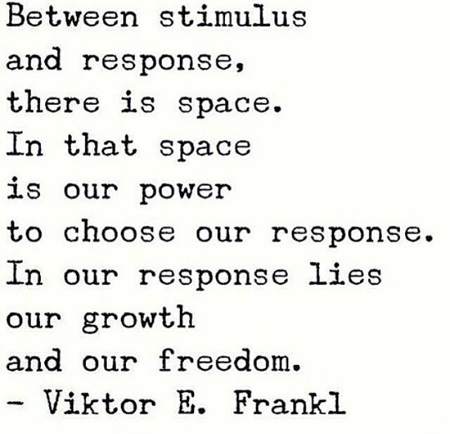 Viktor Frankl space choose